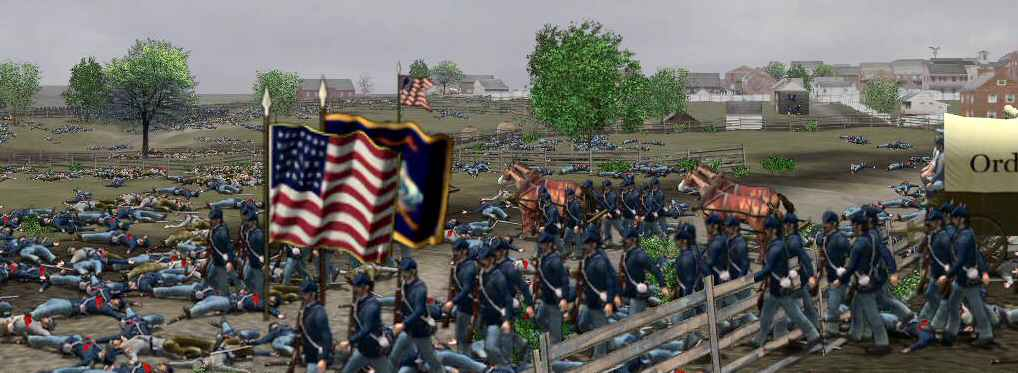 Screenshot from GETTYSBURG SCOURGE OF WAR